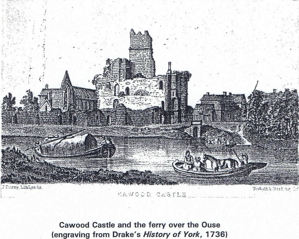 1736 Castle & ferry
