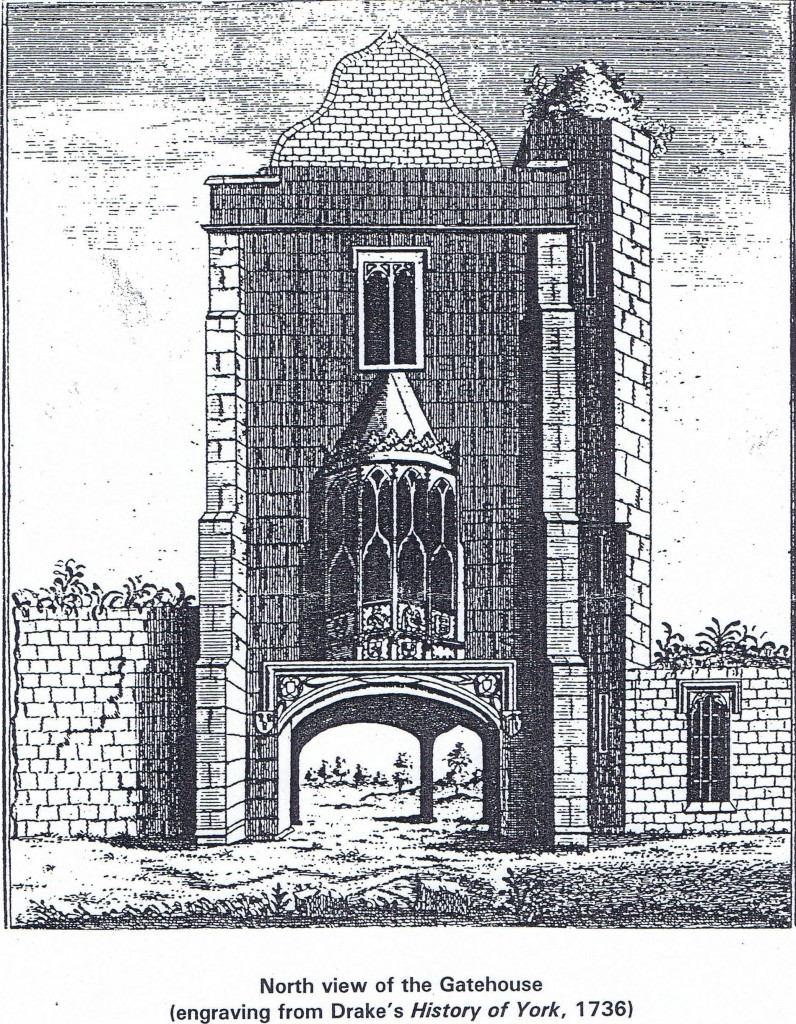 Castle North View 1736
