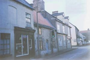 High St with Bike shop 1987