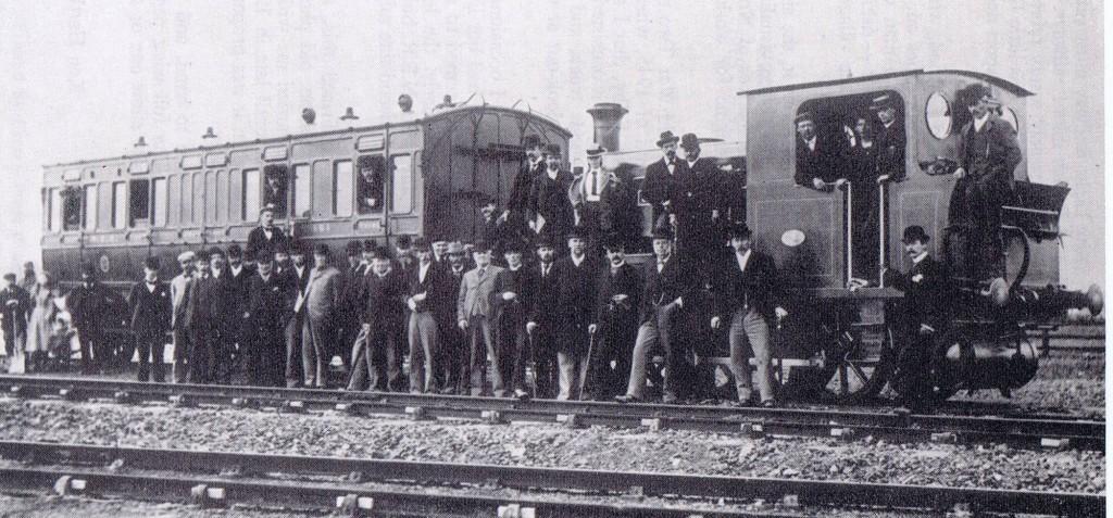 Railway opening