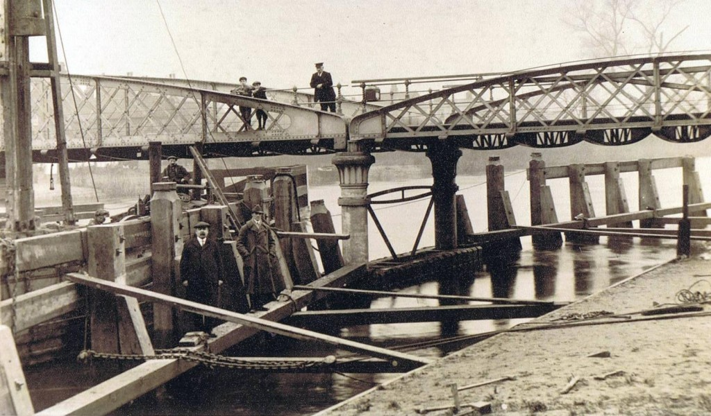Thomas Booth on Cawood Bridge