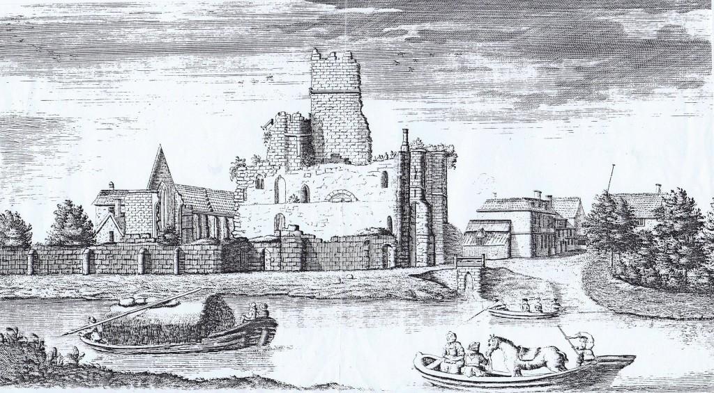 cawood castle 1736