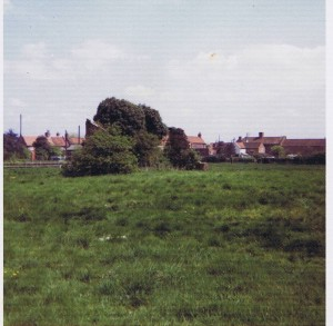 remains of keesbury building 1970