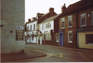 Anchor inn & Burley House 1984